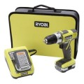 Ryobi 3/8 in. 12-Volt Cordless Lithium-ion Drill Kit