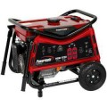 Powermate 5,000-Watt Gasoline Powered Portable Generator with CARB (California compliant)