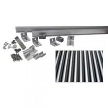 8,000-Watt Direct Mount Racking System (Corrugated Metal)