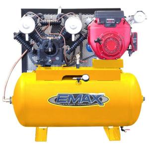 EMAX 18 HP Gas 30-Gal  2-Stage Truck Mount Air Compressor