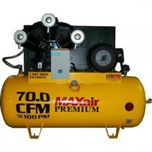 Maxair Premium Industrial 15 HP Electric 3 Phase Single Stage 230-Volt 120-Gal. Air Compressor