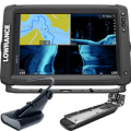 Lowrance Elite-12 Ti2 Inland with Active Imaging 2-in-1, Mid/High Skimmer & Y Cable