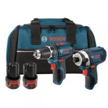 Bosch 12-Volt Max 2-Tool Combo Kit