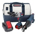 Bosch 18-Volt 2 Tool Lithium Ion Combo Kit
