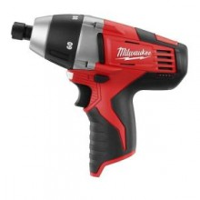 Milwaukee M12 Lithium-ion 12-Volt Cordless 1/4 in. No-Hub Coupling Driver (Tool Only)