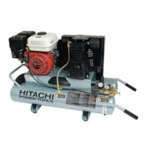 Hitachi 5.5-Horsepower 8-Gal. Wheel Barrow Air Compressor with 8 oz. Synthetic Oil and Wheels