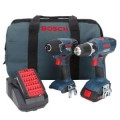 Bosch 18-Volt Lithium Ion 2-Tool Combo Kit
