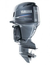 New Yamaha 115 HP Outboard Motor Four Stroke In-Line
