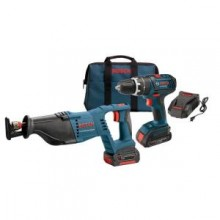 Bosch 18-Volt 2-Tool Lithium Ion Combo Kit