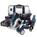 Bosch 18-Volt NiCad 5-Tool Brute Tough Combo Kit