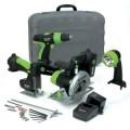 Kawasaki 19.2-Volt 4-Piece Cordless Power Tool Kit