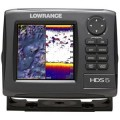 Lowrance HDS-5 Gen2 GPS Fishfinder with Coastal Charts and Transducer