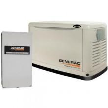 Generac 14,000-Watt Automatic Standby Generator with 200-Amp Transfer Switch