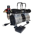 California Air Tools TL10 1 HP Ultra Quiet and Oil-Free Tankless Air Compressor