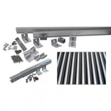 1,000-Watt Additional Tilt Racking System (Corrugated Metal)