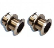 Raymarine B175MH (Medium & High) 12 deg Pair 1KW Thru Hull CHIRP Transducers T70074
