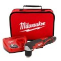 Milwaukee M12 Red Lithium 12-Volt Cordless 3/8 in. Right Angle Drill