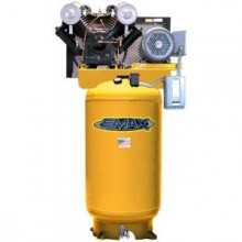 EMAX 7.5 HP Piston 80-Gal. Vertical 2-Stage 1-Phase Air Compressor Quiet 600 RPM