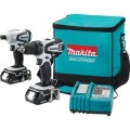 Makita 18-Volt Compact Lithium-Ion 2-Piece Combo Kit