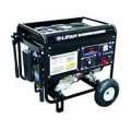 LIFAN Pro Series GFCI 15.5 HP 420 cc Contractor Generator 190A Welder Combo with Wheel Kit and Electric Start, CARB Compliant