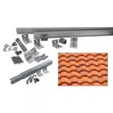 5,000-Watt Additional Tilt Racking System (Curved Tile)