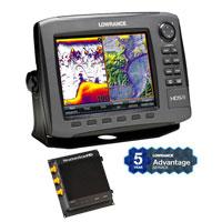 Lowrance HDS-8 Gen2 Insight LSS HD Bundle