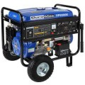 Duromax 8,500-Watt 16.0 Hp Gasoline Powered Electric Start Portable Generator with Wheel Kit