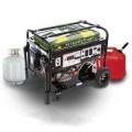 MultiPower 6,000-Watt Mean Green Dual Fuel Electric Start (Gas/LPG) Generator