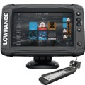 Lowrance Elite-7 Ti2 Combo with Active Imaging 3-in-1 Transom Mount Transducer & C-Map US Inland Chart