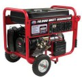 All Power 10,000-Watt 15 HP Gasoline Powered Portable Generator with Mobility Cart, Electric Start