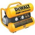 DEWALT 1.1 HP Continuous 4-Gal. Electric Hand Carry Compressor with Control Panel