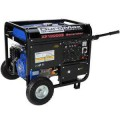 Duromax 10,000-Watt 16.0 Hp Gasoline Powered Electric Start Generator with Wheel Kit and CARB Compliant
