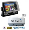 Garmin 740s GPSMAP GMR 18 HD Radar Bundle