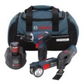 Bosch 12-Volt 3-Tool Lithium Ion Combo Kit