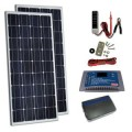 Coleman 260-Watt Solar Kit with Controller and Inverter
