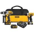 DEWALT 20-Volt Max Lithium Ion Premium Drill Driver / 12-Volt Max Screwdriver 2-Tool Combo Kit