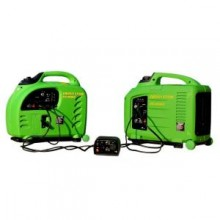 LIFAN Pair of 2,200 and 2800 Peak-Watt Remote Start Digital Power Inverter Generators with Parallel Port Connection System