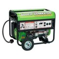 All Power 6,000-Watt Electric Start 13 HP Propane Generator with Mobility Kit