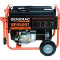 Generac GP 6,500-Watt Gasoline Powered Portable Generator CARB