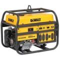 DEWALT 6,000-Watt Gasoline Powered Portable Generator with Honda Engine Manual Start