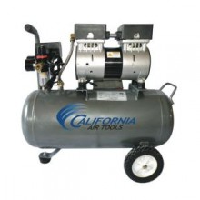 California Air Tools 1 HP 6.3-Gal. Ultra Quiet and Oil-Free Steel Tank Air Compressor