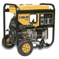 Valsi 8,000-Watt Kohler Command Gasoline Powered Portable Electric Start Single Phase Contractor Generator