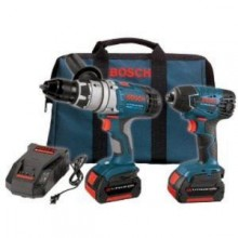 Bosch 18-Volt Lithium-Ion 2-Tool Combo Kit with Impactor and Hammer Drill/Driver