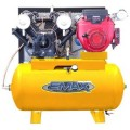 EMAX 18 HP Gas 60-Gal. Horizontal Air Compressor with Honda Engine and Electric Start
