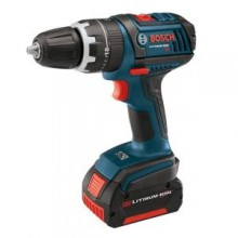Bosch 18-Volt Compact Tough Hammer Drill Driver with (1) 1.3 Ah and (1) 2.6 Ah Batteries