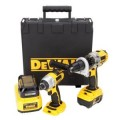 DEWALT 18-Volt XRP Lithium Ion Hammerdrill / Impact Driver 2-Tool Combo Kit