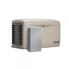 KOHLER 14,000-Watt Standby Generator with 100-Amp 16-Circuit Automatic Transfer Switch