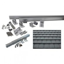 5,500-Watt Additional Tilt Racking System (Flat Slate Tile)