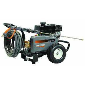 Generac 3000 Psi 3 0 Gpm Subaru Engine Triplex Pump Belt Driven Gas Powered Pressure Washer